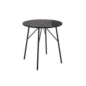 Bing Side Table Round Stone Top