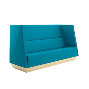 Caid High Back Sofa Plinth Base