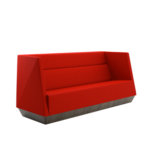 Caid Mid Back Sofa Plinth Base