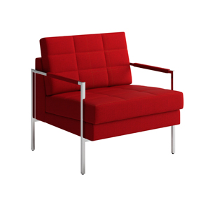 Ethos One Lounge Chair Open Arm