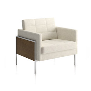 Ethos One Lounge Chair Wood Panels