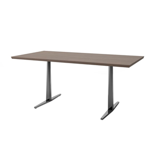 Facet Rectangular Table T Base