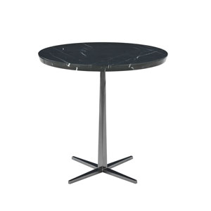 "Facet Round Table Stone Top 30""H"