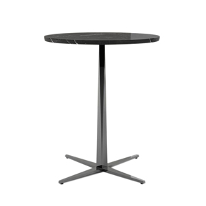 "Facet Round Table Stone Top 42""H"