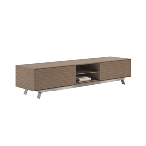 Gait™ Credenza with 2 File Drawers Center Open Shelf