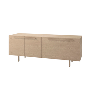 Index R™ Credenza Wood Legs with Two Bookcases