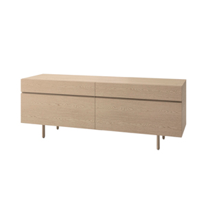 Index R™ Credenza Wood Legs with Two Box/Files