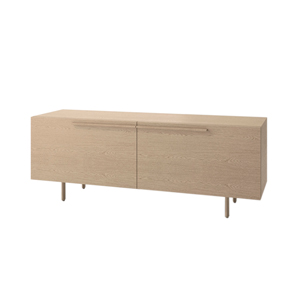 Index R™ Credenza Wood Legs with Two Large Drawers