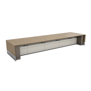 Motile Table With Storage