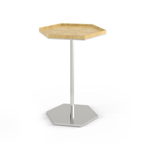 Plateau Hexagon Side Table
