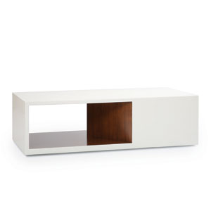 Rottet Coffee Table Open Asymmetrical