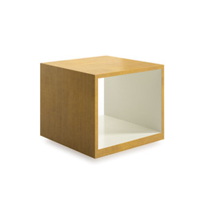 Rottet Side Table Square Open