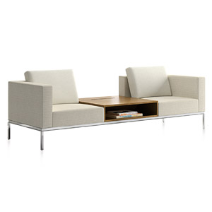 Span One Center Storage Sofa