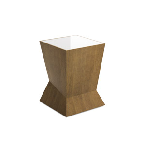Vertex Side Table Inset Top